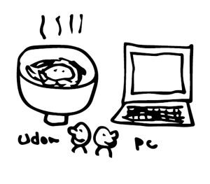 udon and pc