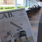 LABペーパーが羽田空港ラウンジにデビューしました